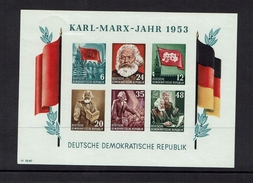 GERMANY...1953...DDR ...mh...$35.00...imperforate - [6] Democratic Republic