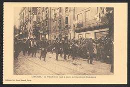 LIMOGES Le Président Poincaré Se Rend à Pied à La Chambre De Commerce (Henri Manuel) Haute Vienne (87) - Limoges