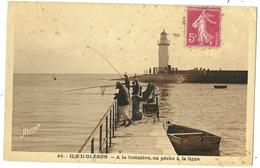 Ile D'Oléron : La Cotinière - On Pêche à La Ligne - Ile D'Oléron