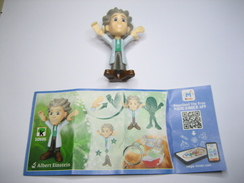 KINDER SD686 TEEN IDOLS Albert Einstein + BPZ - Steckfiguren