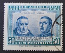 POSTE AERIENNE 1964 - OBLITERE - YT PA 220 - Chili