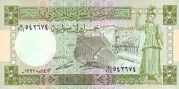 SYRIA 5 SYRIAN POUNDS 1991 P-100e UNC [SY616e] - Syrië