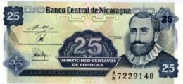 NICARAGUA 25 CENTAVOS ND (1990) P-170 UNC PREFIX A/D [NI464b] - Nicaragua