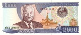 LAOS 2000 KIP 2003 P-33b UNC [ LA510b ] - Laos
