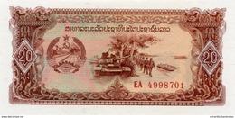 LAOS 20 KIP ND (1979) P-28 UNC [LA504a] - Laos