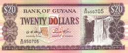 GUYANA 20 DOLLARS ND (2004) P-30b UNC  [GY108c] - Guyana