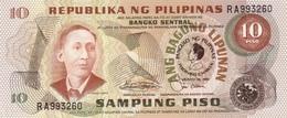 PHILIPPINES 10 PISO 1981 P-167a UNC COMMEMORATIVE [PH167a] - Philippines