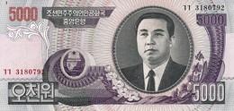 NORTH KOREA 5000 WON 2006 P-46A UNC [KP329a ] - Korea, North