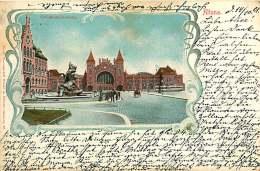 ALLEMAGNE 070517 - HAMBURG - ALTONA - Stuhlmannbrunnen - 1901 - Altona