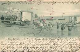 ALLEMAGNE 070517 - HAMBURG - ALTONA OEVELGONNE - Plage Cabine 1901 - Altona