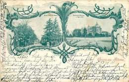 ALLEMAGNE 070517 - HAMBURG - Gruss Aus ALTONA - Grosse Brunnenstrasse - Flottbecher Chaussee U Eggers Allee - 1901 - Altona