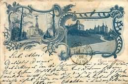 ALLEMAGNE 070517 - HAMBURG - Gruss Aus ALTONA - Denkmal A D Palmaille - Parthie A D Kaj Strasse 1900 - Art Nouveau - Altona
