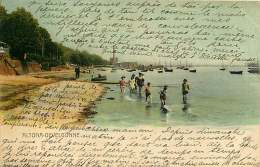 ALLEMAGNE 070517 - HAMBURG - ALTONA - OEVELGONNE - Plage Baigneur 1903 - Altona