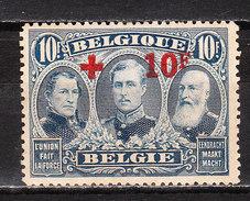 163*  Croix-Rouge - LA Bonne Valeur - MH* - Pour L'état, Voir Scans - LOOK!!!! - 1918 Croix-Rouge
