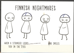 Card From Turku - Karolina Korhonen - Finnish Nightmares - Putinky Oy FN9 7017981 - Finland