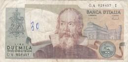 Italie - Billet De 2000 Lire - Galileo - 8 Octobre 1973 - 2000 Lire