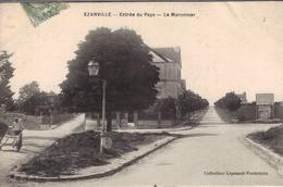 EZANVILLE Entrée Du Pays.Le Marronnier - Ezanville