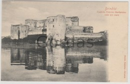 Italy - Brindisi - Castello Federico Barbarossa - Brindisi
