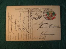 GUERRA 15-18 - CORRISPONDENZA MILITARE IN FRANCHIGIA - POSTA MILITARE  - 45 - Guerra 1914-18