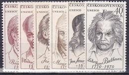 ** Tchécoslovaquie 1970 Mi 1922-7 (Yv 1766-71), (MNH)