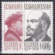 ** Tchécoslovaquie 1970 Mi 1939-40 (Yv 1783-4), (MNH)