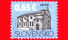 SLOVACCHIA - Usato - 2014 - Tradizioni Culturali - Sinagoga A Levice - 0.65 - Slovacchia