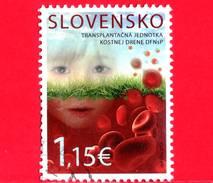 SLOVACCHIA - Usato - 2015 - Unità Del UCHC Per Il Trapianto Del Midollo Osseo - 1.15 - Slovacchia