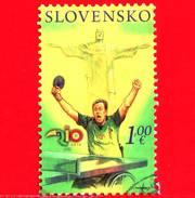 SLOVACCHIA - Usato - 2016 - XV Giochi Paralimpici Estivi A Rio De Janeiro - 1.00 - Slovacchia
