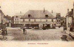CPA - NONANCOURT (27) - Aspect Du Quartier De La Place Des Halles En 1922 - Francia