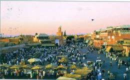 Cp MARRAKECH  'circulé - Marrakech