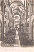 Caen Nef De L'eglise Saint Etienne Abbaye Aux Hommes - Iglesias Y Catedrales