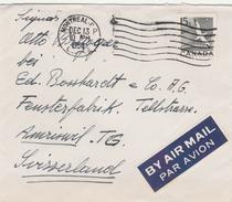 Canada-Flugpostbrief 1954