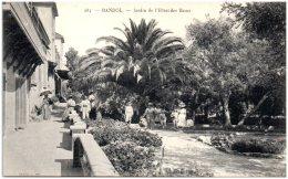 83 BANDOL -Jardin De L'hotel Des Bains   (Recto/Verso) - Bandol