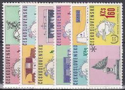 ** Tchécoslovaquie 1974 Mi 2222-7 (Yv 2067-72), (MNH)