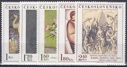 ** Tchécoslovaquie 1974 Mi 2232-6 (Yv 2077-81), (MNH)