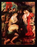 "Paraguay 1982 Paintings Rubens, Christmas S/s ""B"" Number MNH - Rubens"