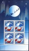##Greenland 2003. Christmas. Saint Claus. Bloc. Michel 26. MNH(**) - Blocs