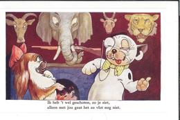 16714 - Dog Bonzo Ik Heb't Wel Geschoten Zo Je Ziet Aleen Met Jou Gaat Het Zo Vlot Nog Niet Neuve 5521 Tête Eléphant - Chiens
