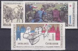 ** Tchécoslovaquie 1975 Mi 2254-6 (Yv 2099-2101), (MNH)