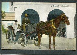 """CPA - A Bermuda """"Automobile"""", Animé - Bermudes"""