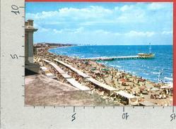 CARTOLINA VG ITALIA - CATTOLICA (RN) - Spiaggia - 10 X 15 - ANN. 1961 - Rimini