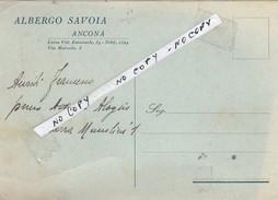ALBERGO SAVOIA ANCONA - Ancona