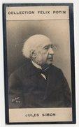 Collection Felix Potin - 1898 - REAL PHOTO - Jules Simon, Philosophe Et Homme D'État Français - Félix Potin