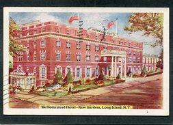 CPA - The Homestead Hotel - Kew Gardens, LONG ISLAND, N.Y. - Long Island