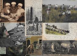 Lot 275 De 10 CPA Divers Métier Campagne Ferme Folklore Déstockage Pour Revendeurs Ou Collectionneurs - Cartes Postales