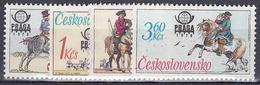 ** Tchécoslovaquie 1977 Mi 2377-80 (Yv 2213-6), (MNH)
