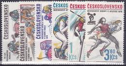 ** Tchécoslovaquie 1978 Mi 2434-9 (Yv 2266-71), (MNH)