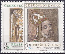 ** Tchécoslovaquie 1978 Mi 2442-3 (Yv 2273-4), (MNH)
