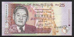 518-Maurice Billet De 25 Rupees 2003 AY898 Neuf - Maurice
