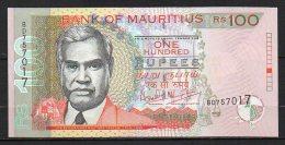 518-Maurice Billet De 100 Rupees 2001 BD757 Neuf - Maurice